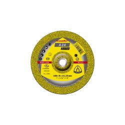 Tarcza do szlifowania-metal A24 ext180x6,0x22 wypukła Klingspor 45435A