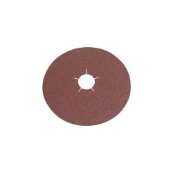 Krążki ścierne fibrowe 180mm gramatura 100 do stali i metali nieżelaznych Klingspor 45490A