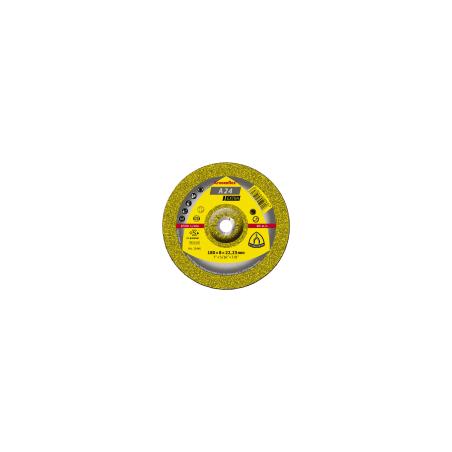 Tarcza do szlifowania metalu A24 Ext,125x6,0x22 wypukła Klingspor 45458A