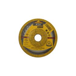 Tarcza do cięcia metalu A24 Extra 125x2,5x22 wypukła Klingspor 45456A