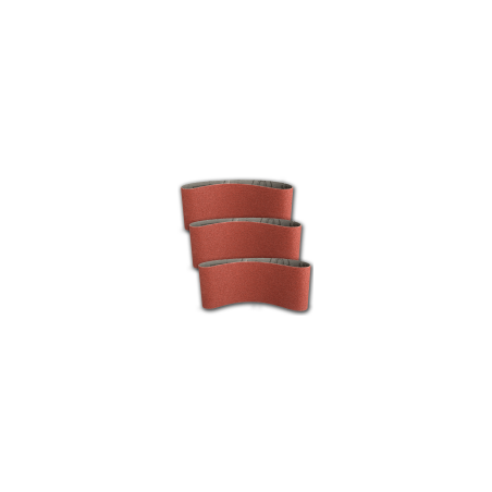 Pas ścierny bezkońcowy 100x610mm P100 do metalu drewna do elektronarzędzi 3 sztuki Klingspor 45343