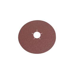 Krążki ścierne fibrowe 125mm gramatura 120 do stali i metali nieżelaznych Klingspor 45273A