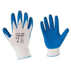rękawice ochronne lateks lahtipro l2105