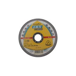 Tarcza do cięcia stali kwaśnej A46TZSPEC 230x19x22 płaska Klingspor KL224084
