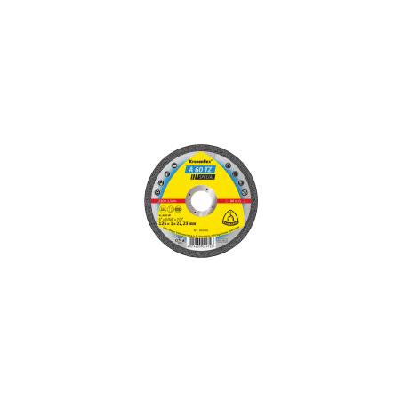 Tarcza do cięcia stali kwaśnej A60TZSPEC 125x10x22 płaska Klingspor KL202401