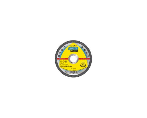Tarcza do cięcia stali kwaśnej A60TZSPEC 115x10x22 płaska Klingspor KL202400