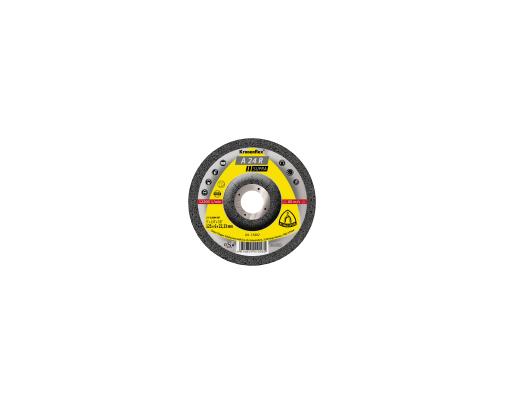 Tarcza do szlifowania stali A24R Supra 125x60x22 wypukła Klingspor KL13402