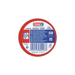 Taśma elektroizolacyjna 5000V PCW 20m:19mm czerwona H5398821