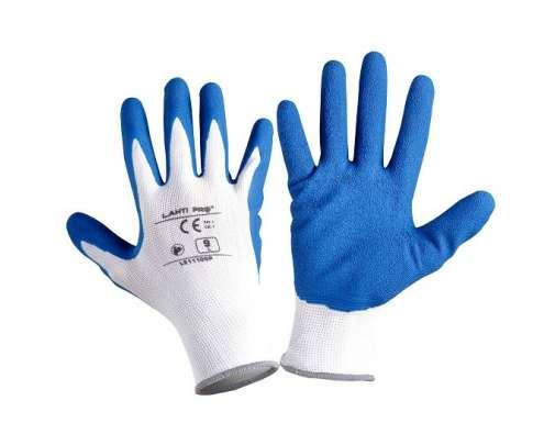 rękawice ochronne powlekane lateksem 12par lahtipro l2111