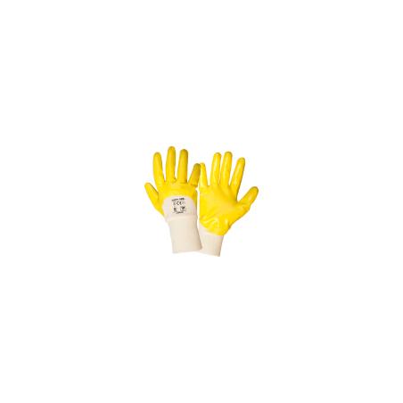 Rękawice ochronne powlekane nitrylem 12 par 10 Lahti Pro L220210W