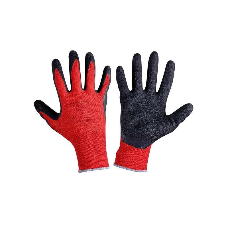 rękawice ochronne powlekane lateksem 12par lahtipro l2112