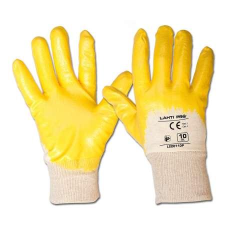 Rękawice ochronne nitryl 12 par Lahti Pro L2201