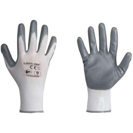 Rękawice ochronne powlekane nitrylem Lahti Pro L2203