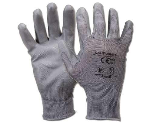 rękawice ochronne poliuretan 12par lahtipro l2302