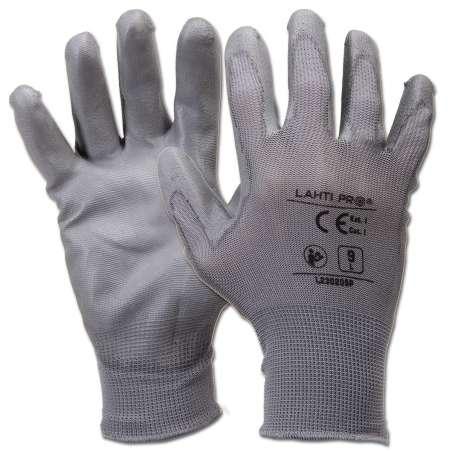Rękawice ochronne poliuretan 12 par Lahti Pro L2302