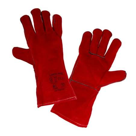 Rękawice ze skóry spawalnicze karta Lahti Pro L270311K