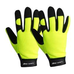 rękawice warsztatowe czarno-żółte lahti pro l2803