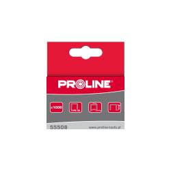 Zszywki typ 80 16mm 129x0,95mm 1000 sztuk Proline 55516