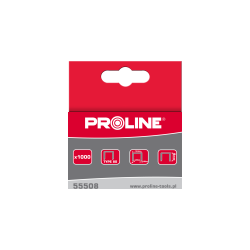 Zszywki typ 80 14mm 129x095mm 1000 sztuk Proline 55514