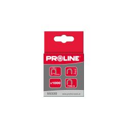 Zszywki hartowane S 6,2mm półokrągłe L:12mm Proline 55332
