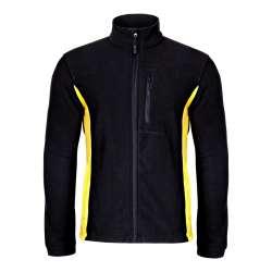 bluzy polarowe męskie 290 czarne lahtipro l40101