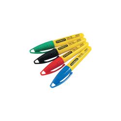 Marker mini 4 rodzaje kolorów krągła końcówka Stanley 473291