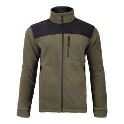 bluza robocza polar khaki-czarna ce lahtipro l40116xx