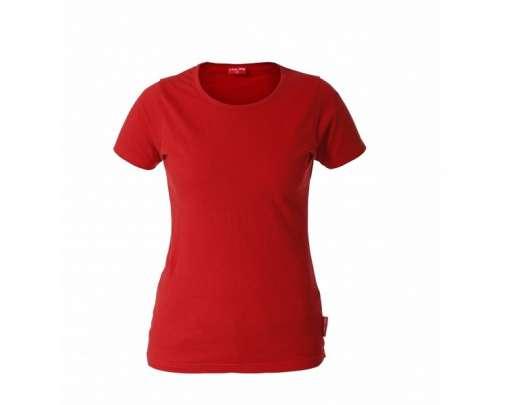 koszulka t-shirt damska czerwona 180  s-xxxl lahtipro l40211