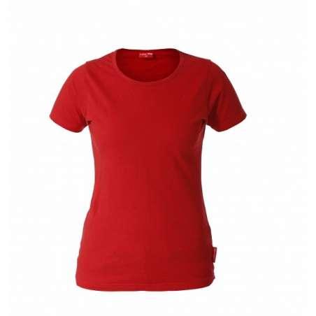 Koszulka T-shirt damska czerwona 180 Lahti Pro L40211