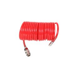 Wąż pneumatyczny spiralny PU 5m 8x12mm 10bar Proline 66356