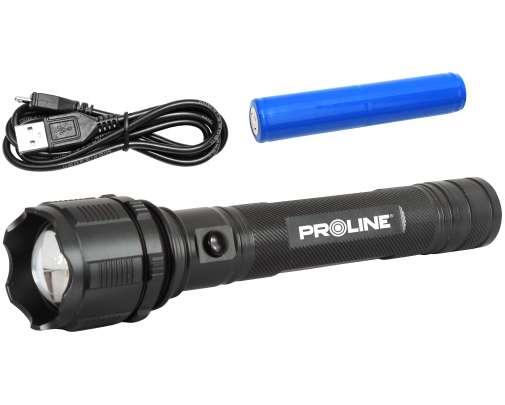 Akumulatorowa latarka LED USB Proline XX51035