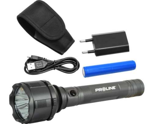Akumulatorowa latarka LED USB Proline XX51036
