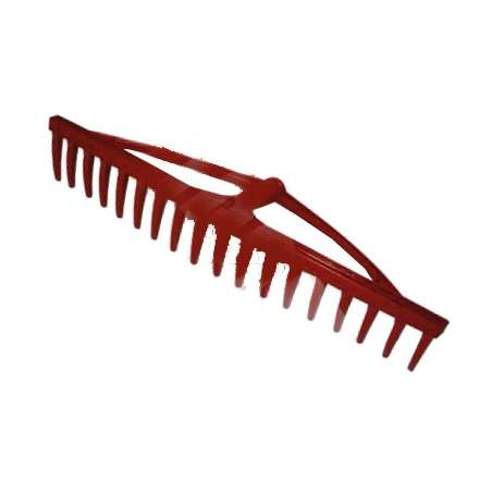 Grabie plastikowe do siana 18-zębów nieoprawne 60cm 12251