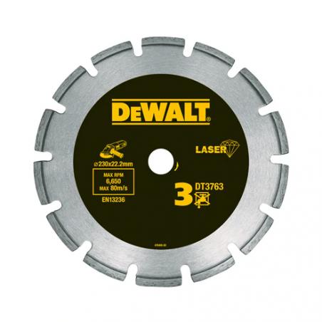 Tarcza diamentowa 230mm DeWalt DT3763