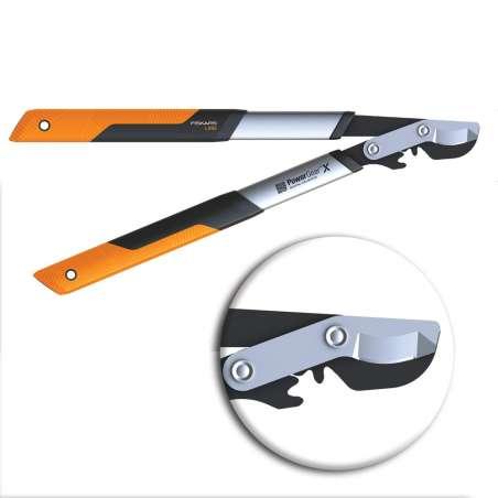 Sekator dźwigniowy nożycowy 57cm LX92 Powergearx Fiskars F1020186