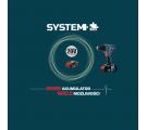 Szlifierka kątowa bezszczotkowa 125mm SYSTEM 20V z ładowarką i akumulatorem Tryton TJS120AL