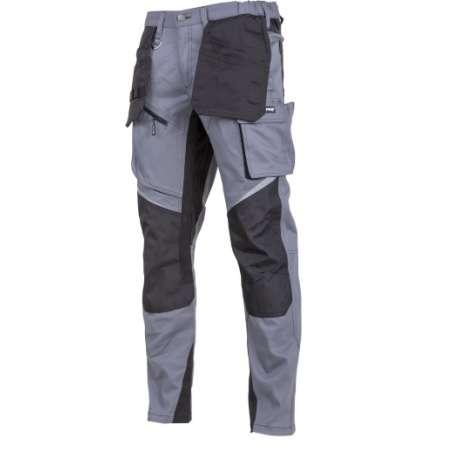 Spodnie robocze szare ochronne do pasa Slim-Fit Lahti Pro L40527