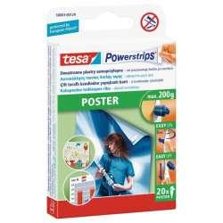 Plastry samoprzylepne do plakatów 20 sztuk 200g Tesa H5800329