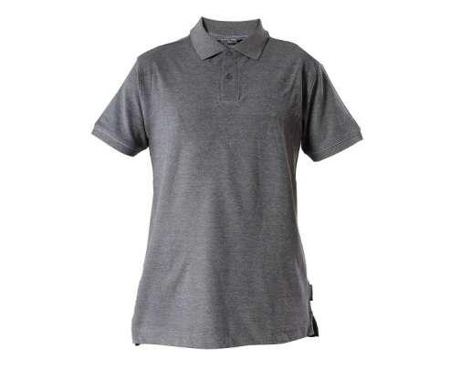koszulka bawełniana polo szara 220g lahtipro l40306