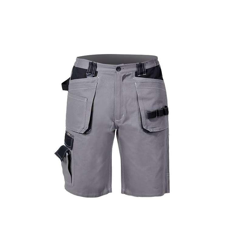 spodenki krótkie bawełna szaro-czarne lahti pro l40703
