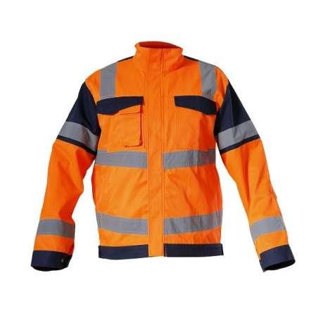 Kurtka ostrzegawcza letnia pomarańczowa Lahti Pro L40911