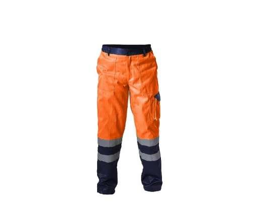 spodnie ostrzegawcze pomarańczowe s-3xl ce lahtipro l41003