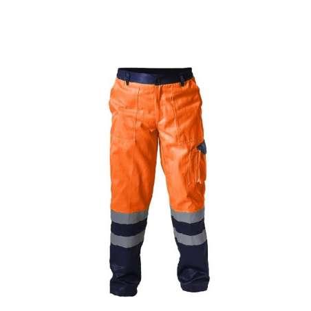 Spodnie ostrzegawcze pomarańczowe Lahti Pro L41003