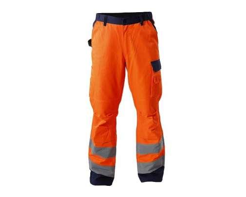 spodnie ostrzegawcze pomarańczowe s-3xl ce lahtipro l41005