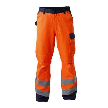 Spodnie ostrzegawcze pomarańczowe Lahti Pro L41005