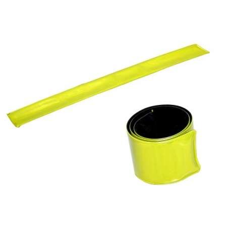 Opaska odblaskowa elastyczna żółta 3x34 cm Lahti Pro L9010100