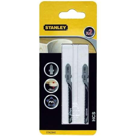 Brzeszczoty HCS T 76x5020 podz. 2mm Stanley STA23042