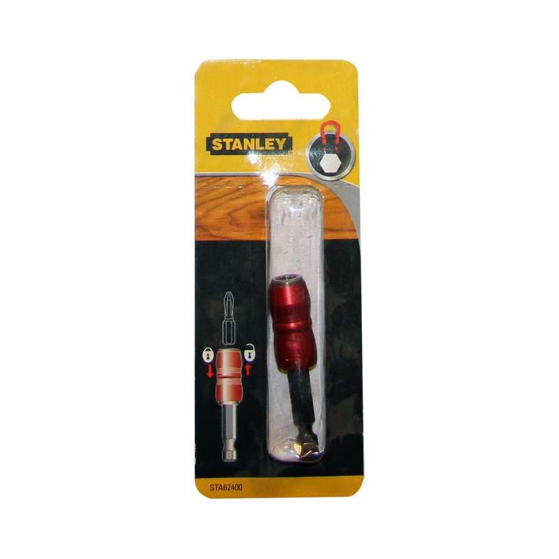 uchwyt magnetyczny do wkrętarek na bity 1/4cala zatrzaskowy stanley sta62400