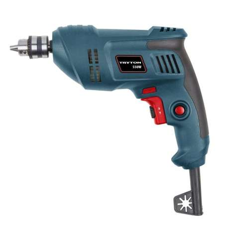 Wiertarka bez udarowa 550W uchwyt kluczykowy 10mm Tryton TUW550