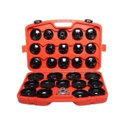 zestaw kluczy nasadowych do filtrów oleju 30el. proline 46887